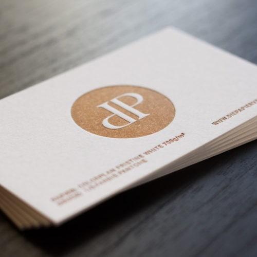 Visitenkarten Mit Letterpress Buchdruck Die Papierveredler