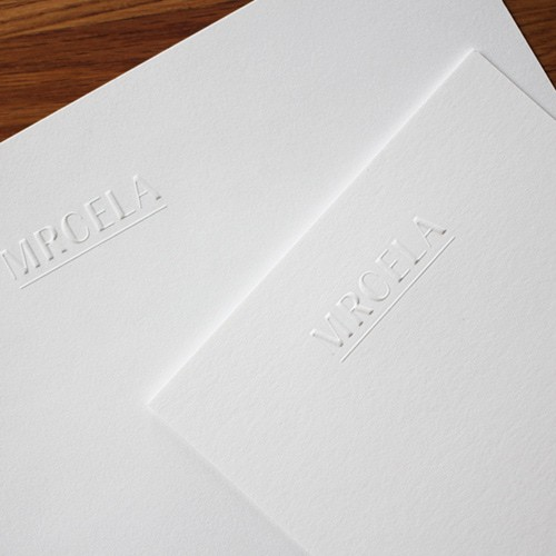 Karten und Briefpapier mit Blindprägung auf Gmund Cotton