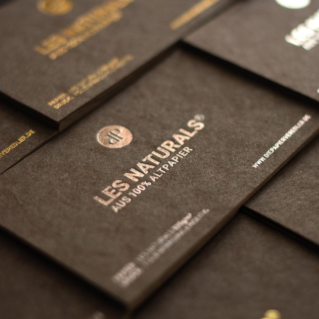 Visitenkarten mit schwarzem karton die papierveredler for Visitenkarten ideen