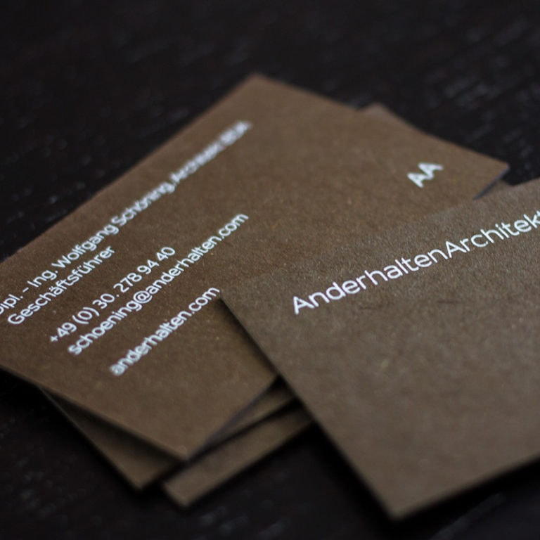 Les Naturals Recyclingpapier Visitenkarten Im Digitaldruck