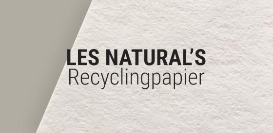 Les Naturals Karton Recycling