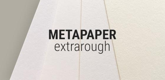 Metapaper extrarough Geschäftspapiere