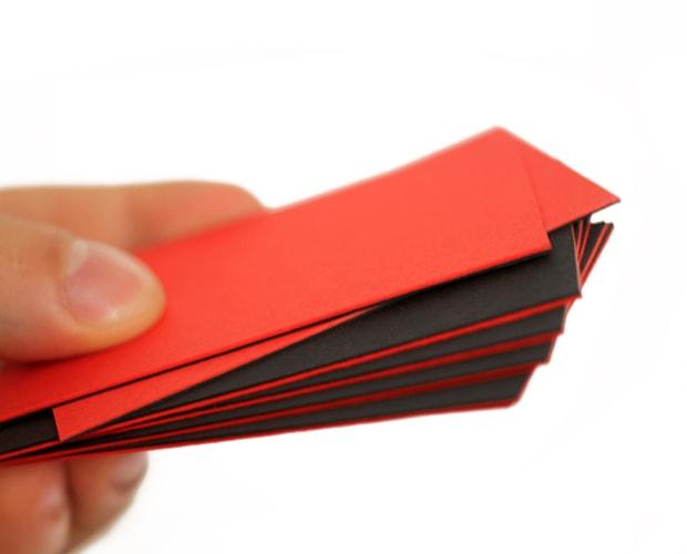 kaschierte Karten und Visitenkarten extra dick - Druckerei Berlin Brandenburg