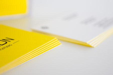 Colorplan Visitenkarten kaschiert
