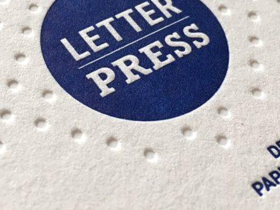 Letterpress Veredelungen