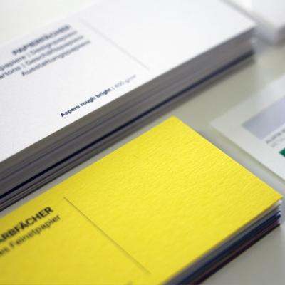 Businessfächer Colorplanfächer Ausstattungspapiere Designpapiere