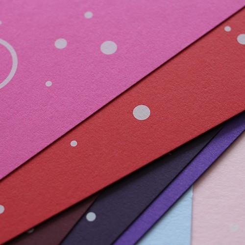 Colorplan Karten farbige Papiere mit Druck