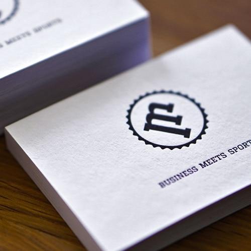 Letterpress Karten auf GMUND Heidi Kraftkarton