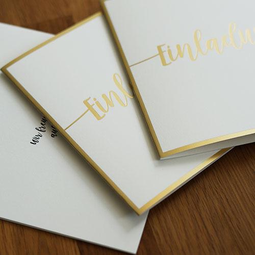 klappkarten Hochzeit