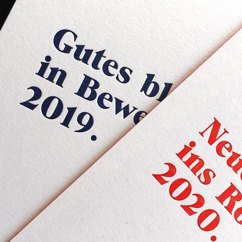 Letterpress Larten Boston Sytle